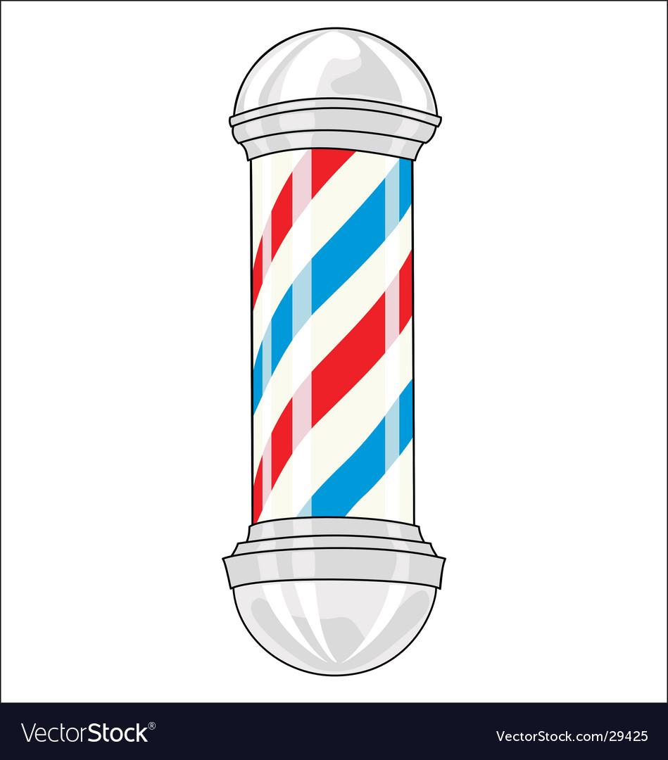 Barbershop pole vector