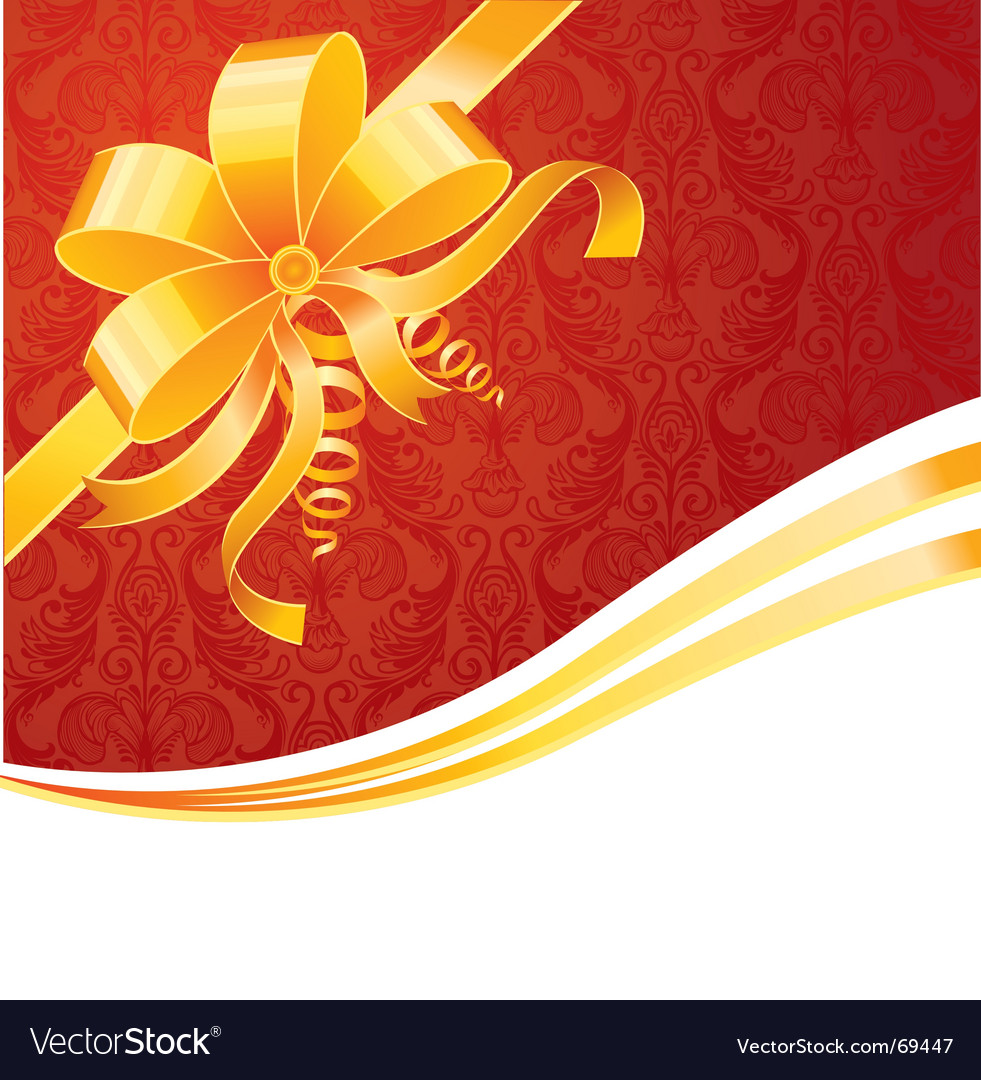 Ribbon wrapping vector