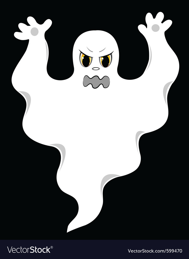Evil Ghost Cartoon