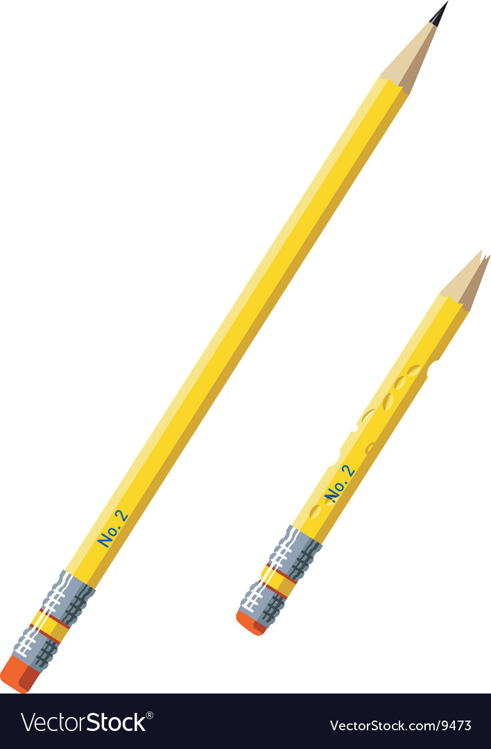 Pencils illustrations vector