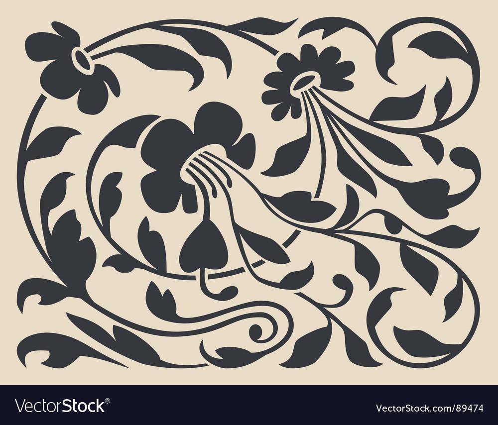 Decorative ornament vector