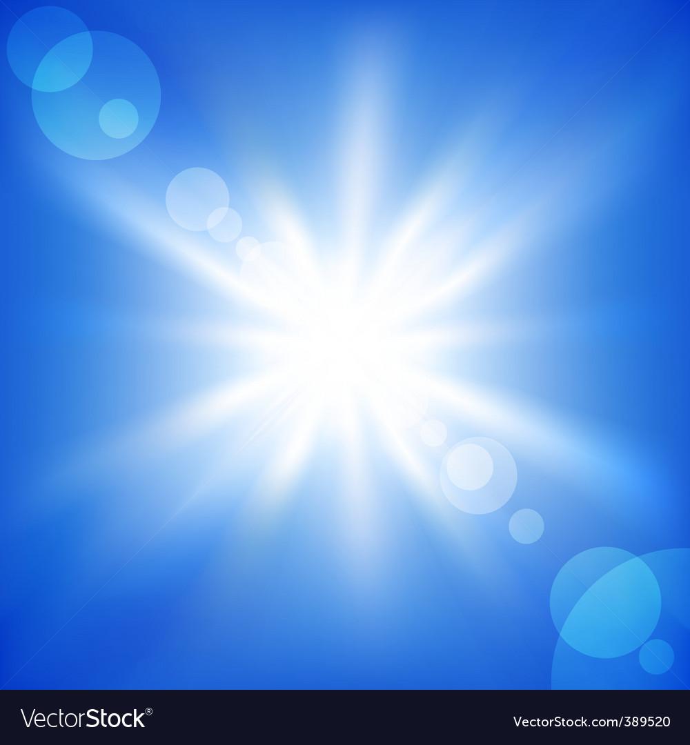 Blue sky vector