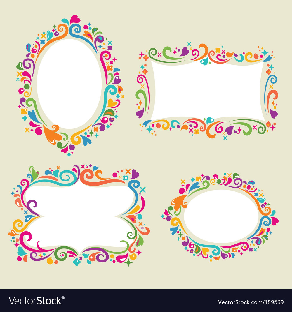 Retro card frame templates vector by ma_rish - Image #189539 ...