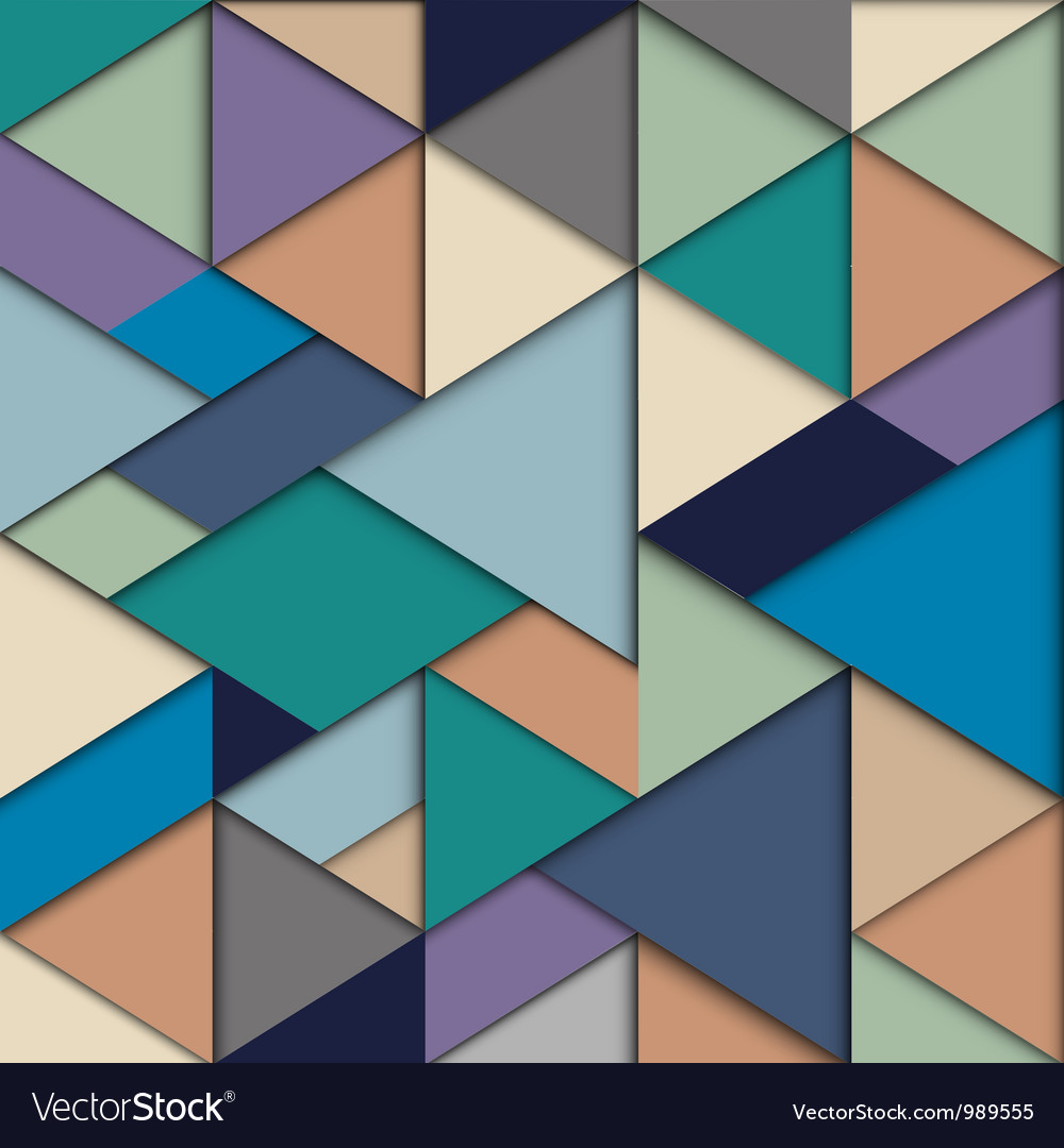 Origami background vector