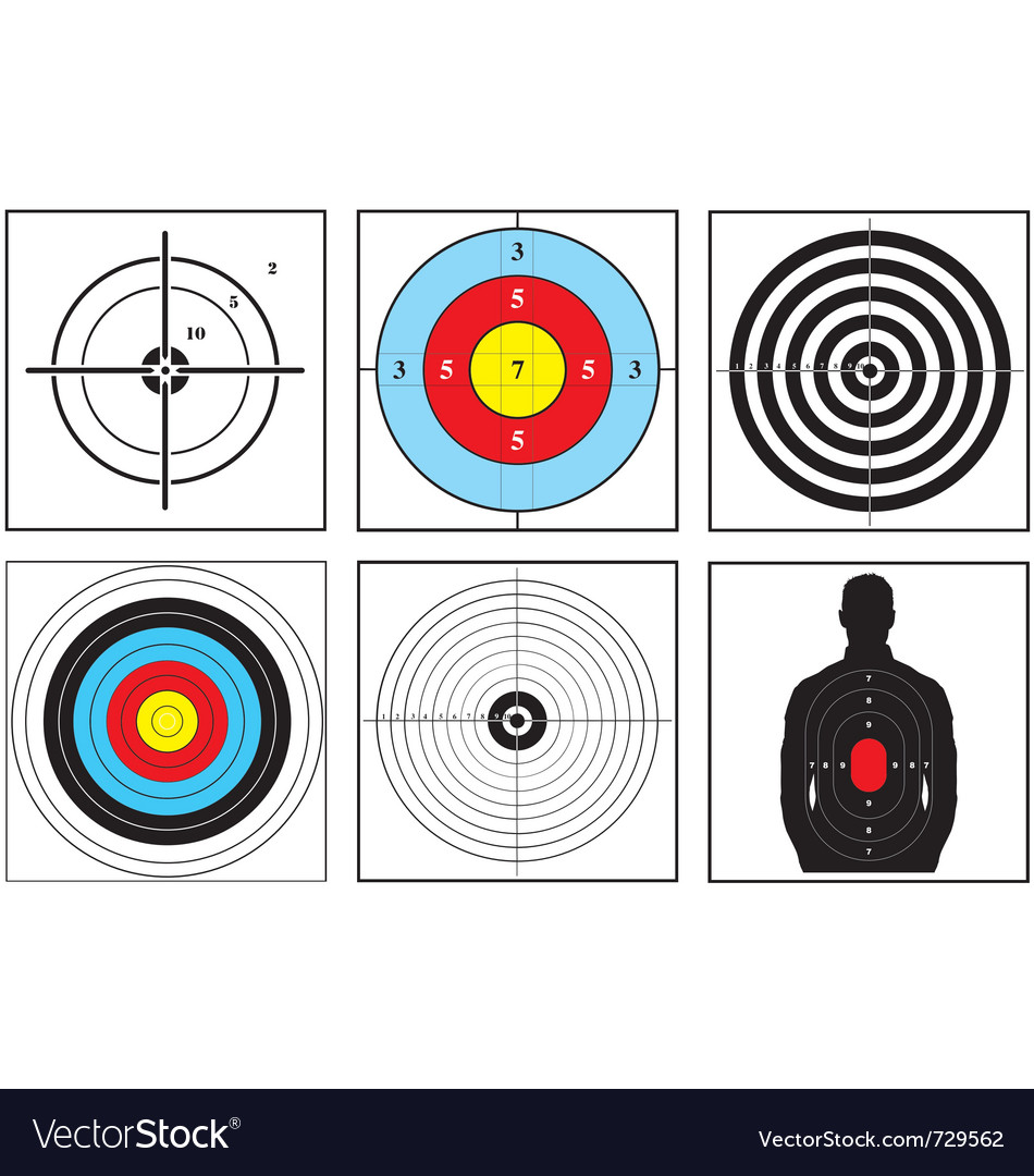 Weapon targets vector
