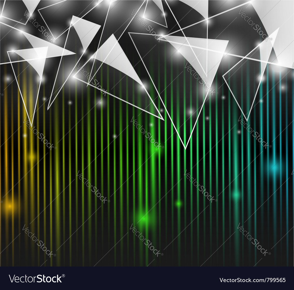 Abstract glass background vector