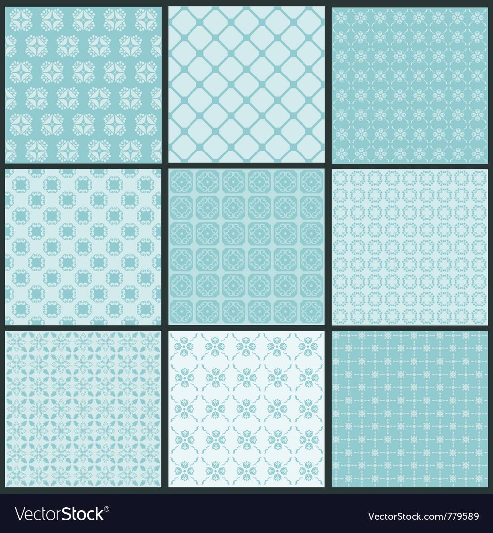 Vintage tile vector