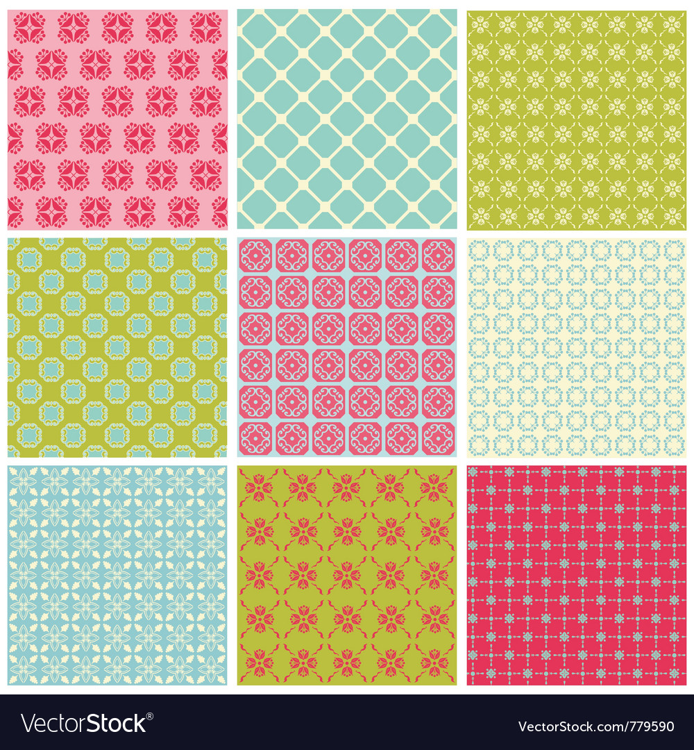 Seamless colorful background vector