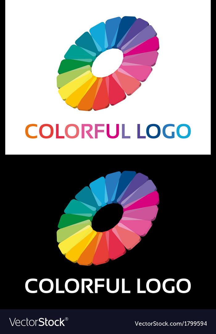 Abstract creative colorful logo vector