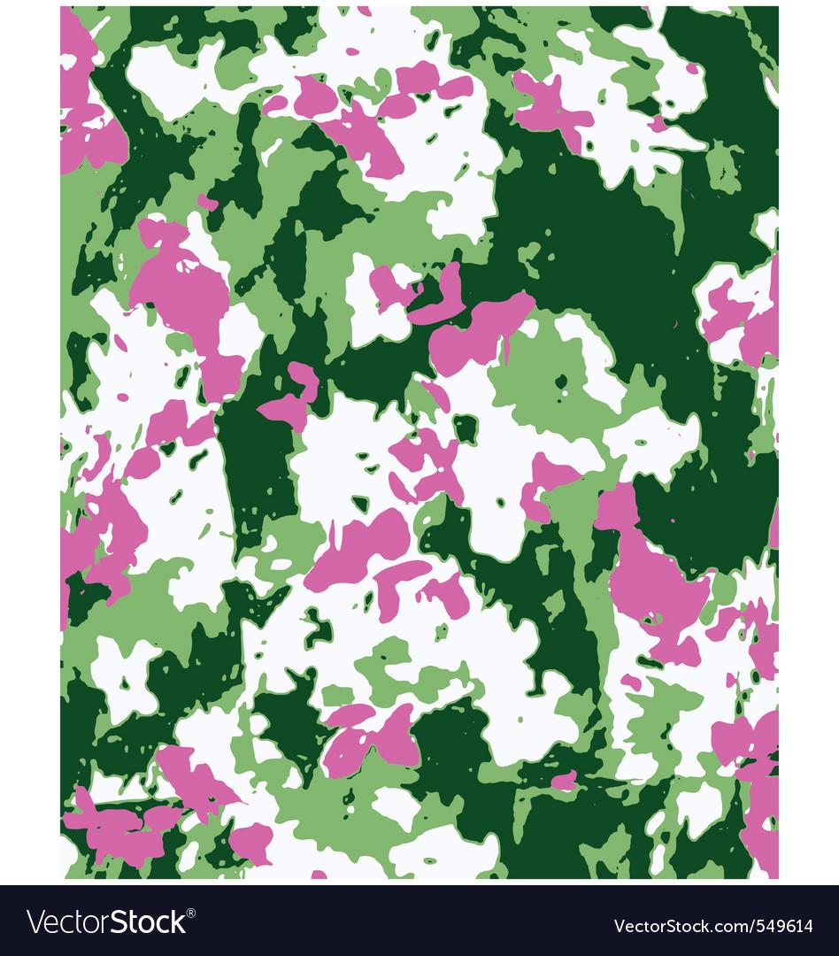 Flower fashion texture vector