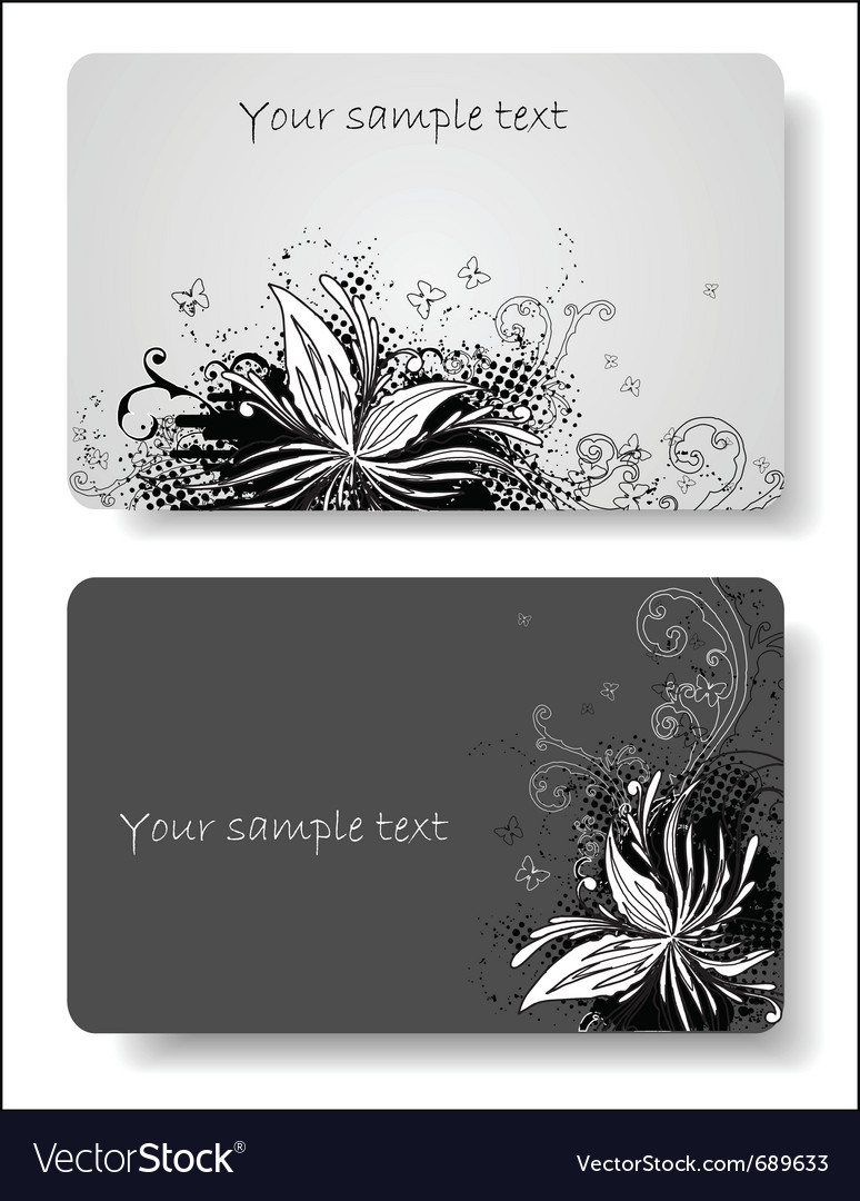 Business cards templates vector