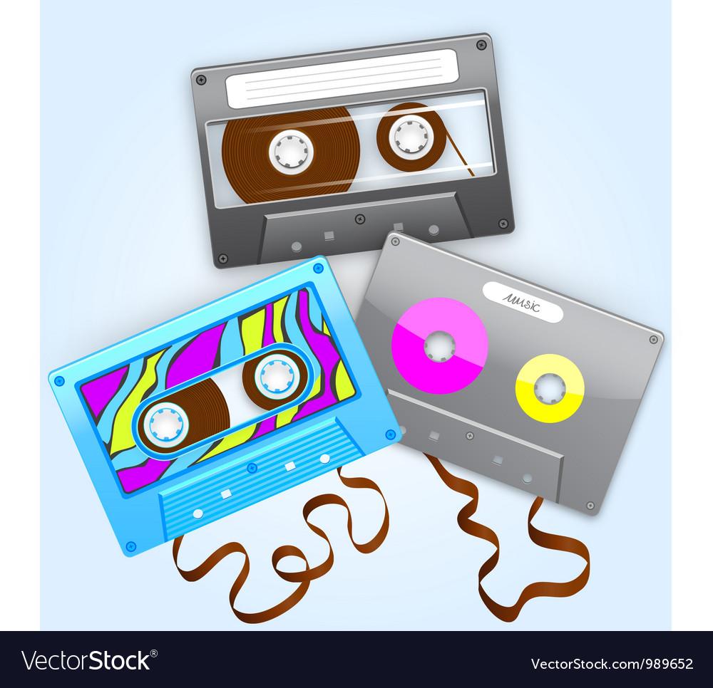 Cassettes vector