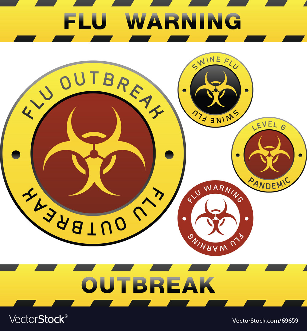 Flu outbreak vector