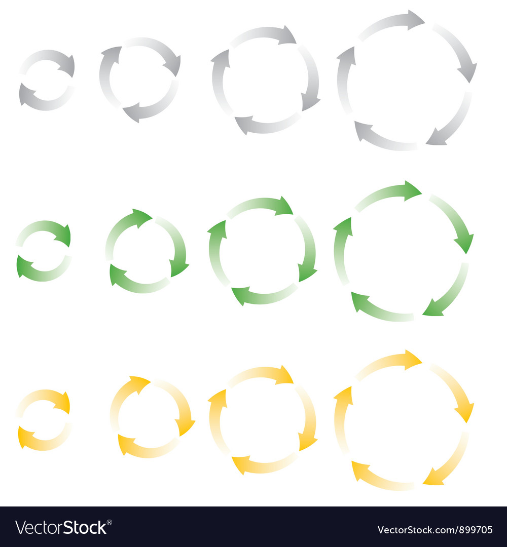 Process icons vector