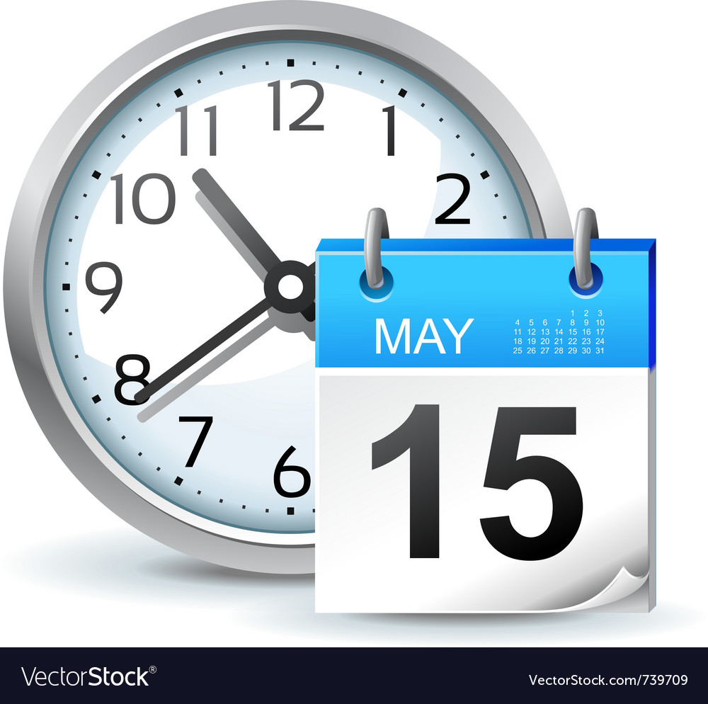 Schedule icon vector