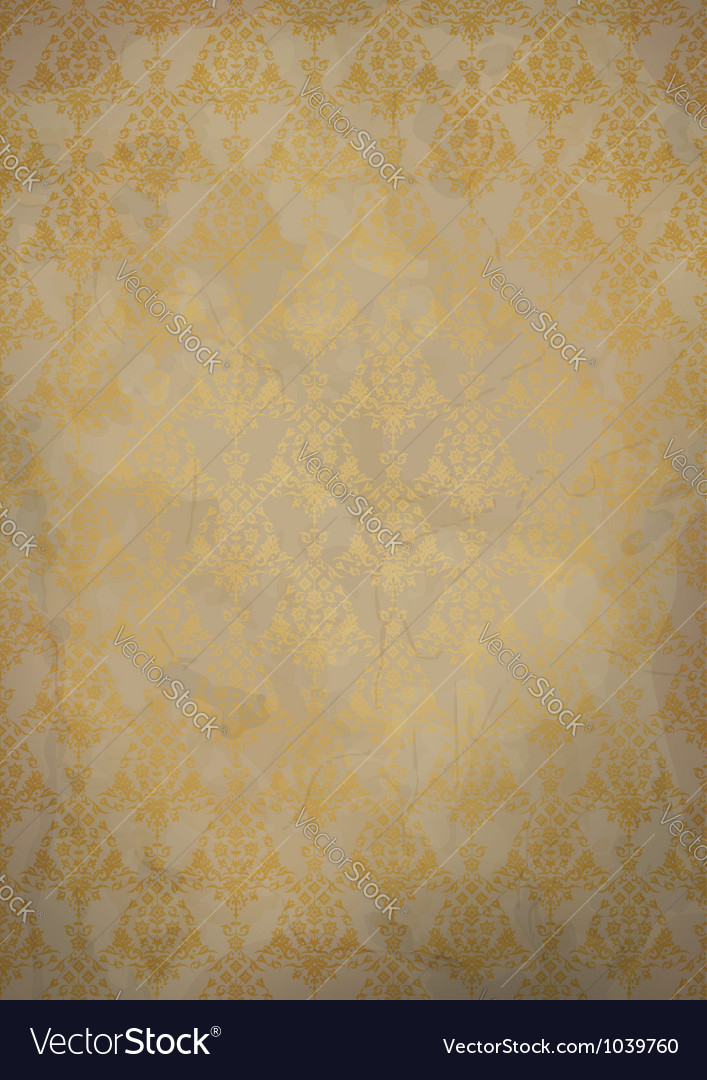 Vintage old paper background vector