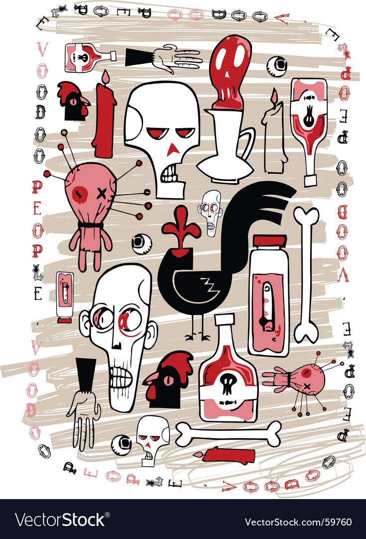 Voodoo people vector