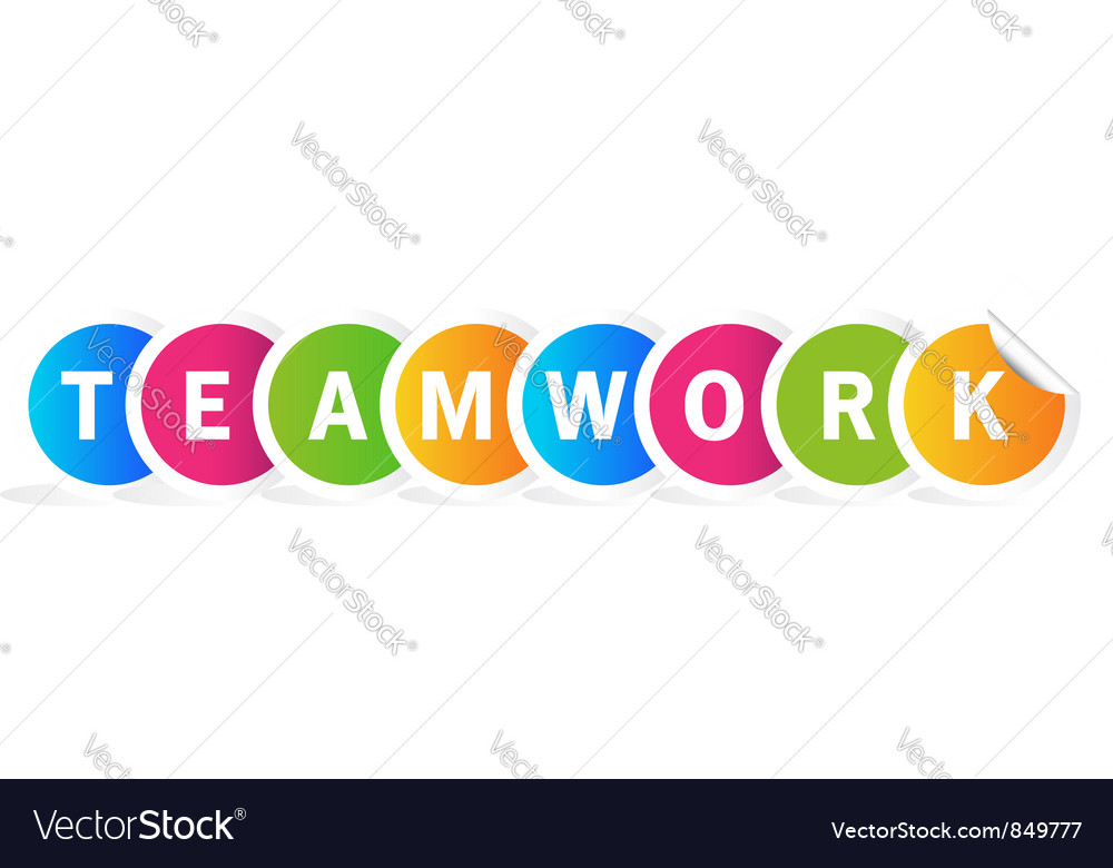 Teamwork word vector