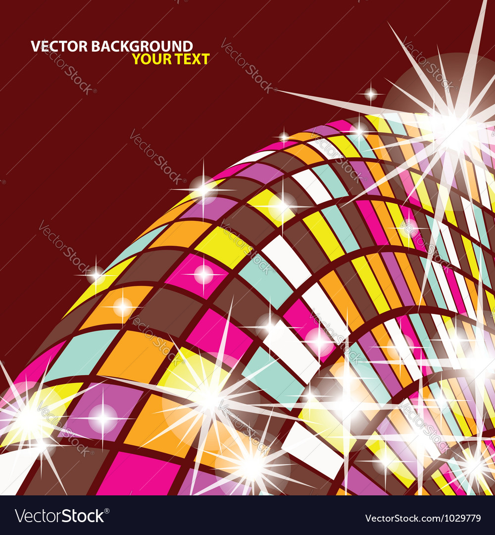 Abstract mosaics background vector