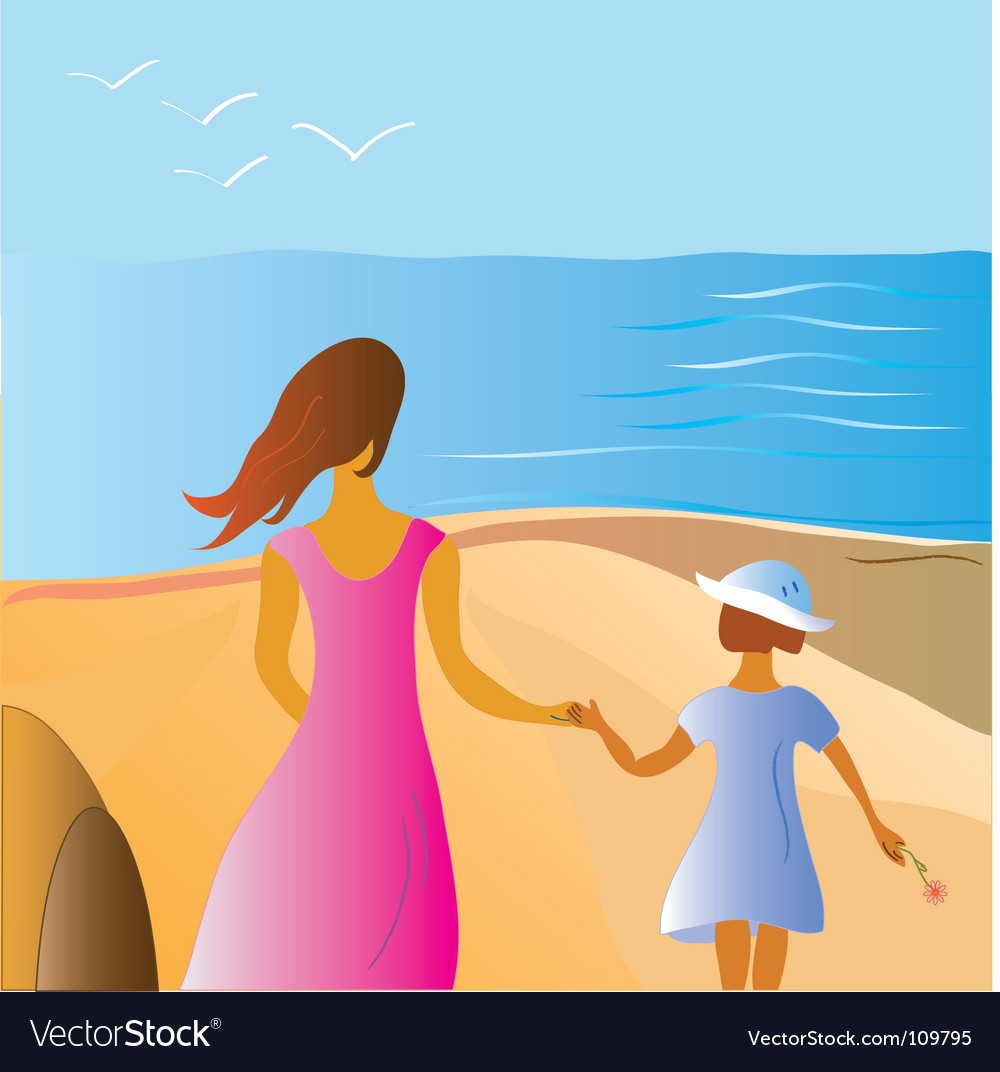 Related pictures free beach vacation vector clip art