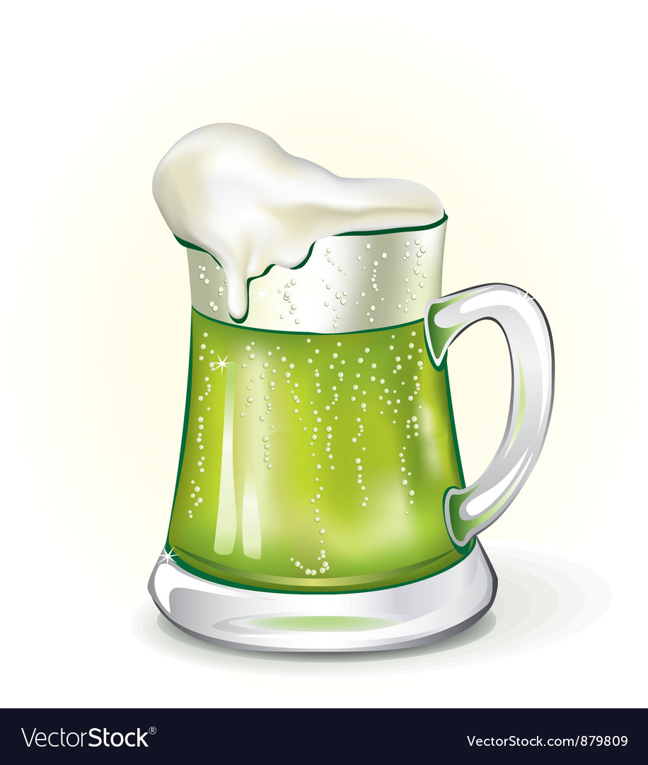 Mug of ale vector