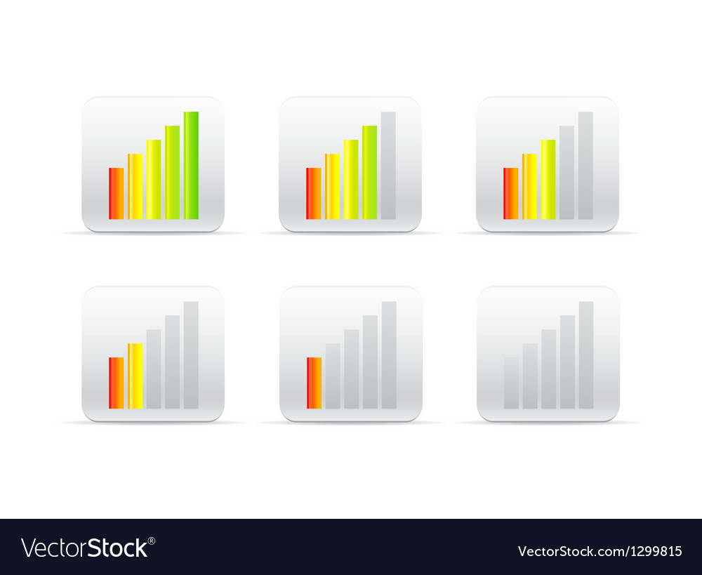 Different color loader vector