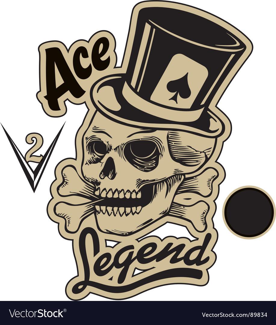 Ace legend vector