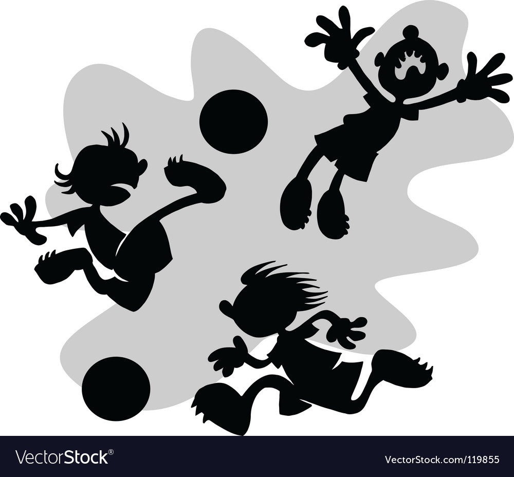 Cartoon football vector