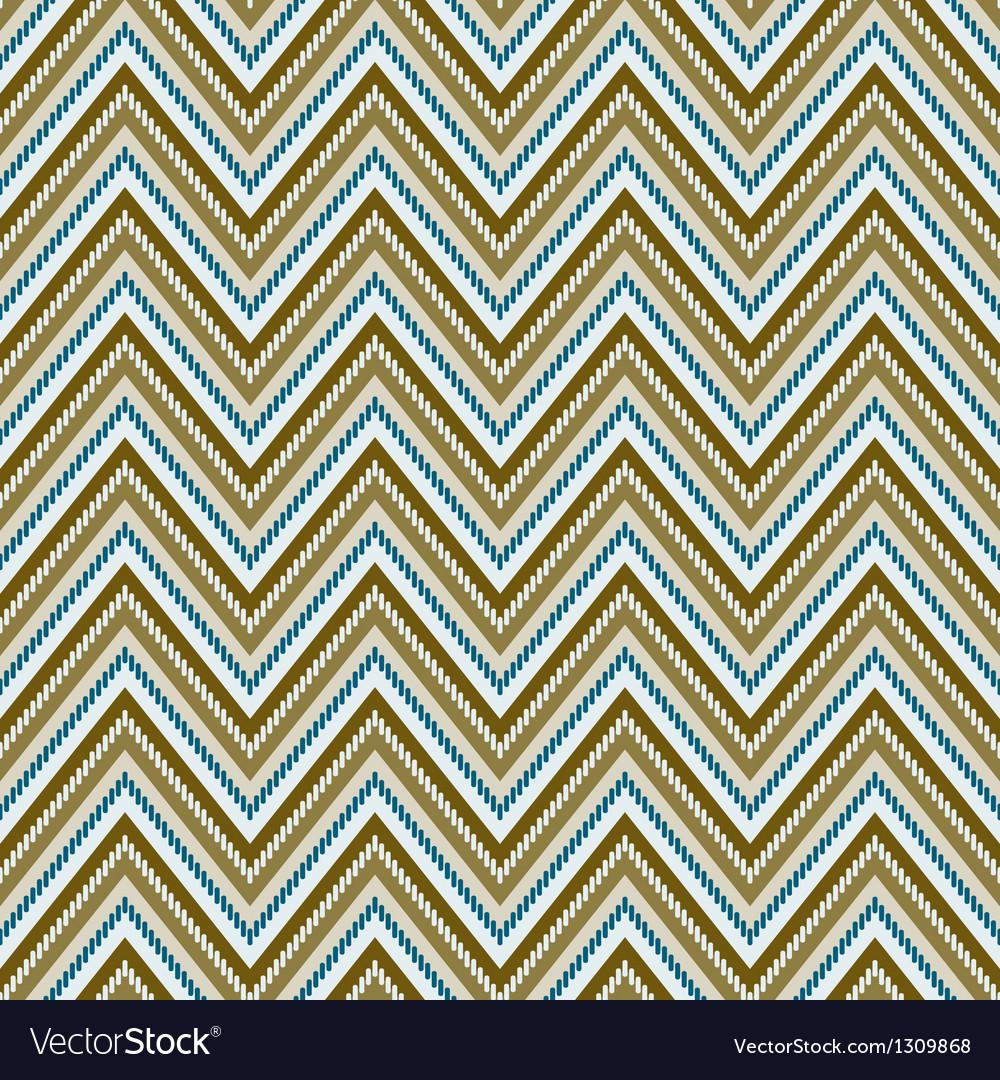 Zig-zag background seamless pattern vector