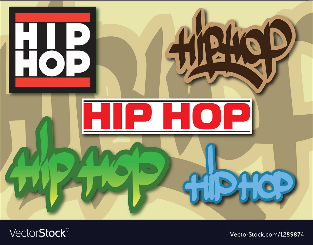 Hip-hop vector