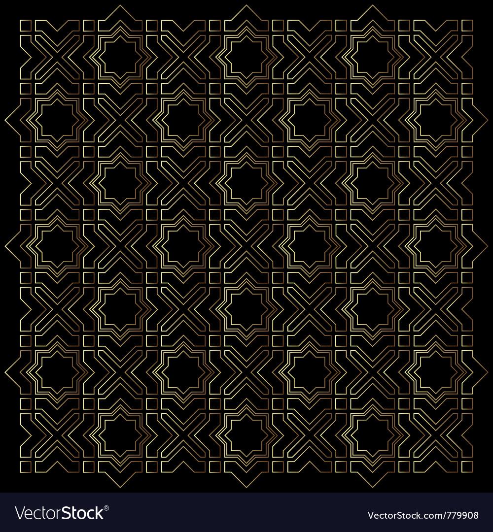 Islamic pattern background vector