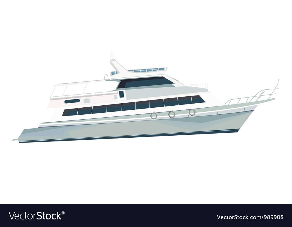 Sea vessel vector