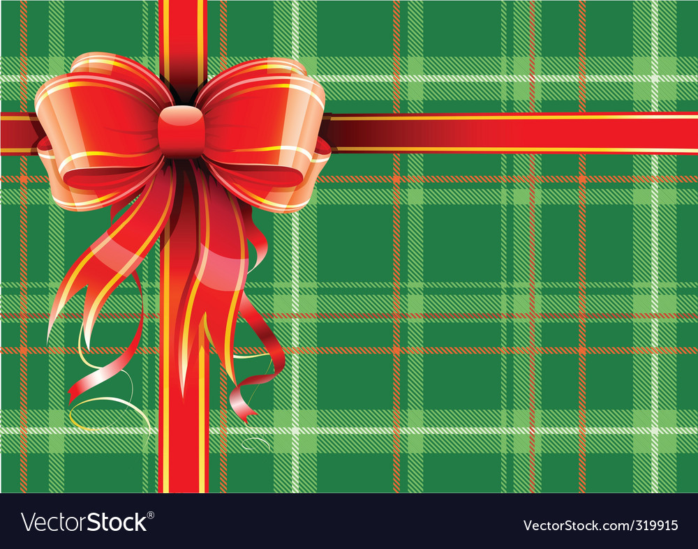 Gift wrapping vector