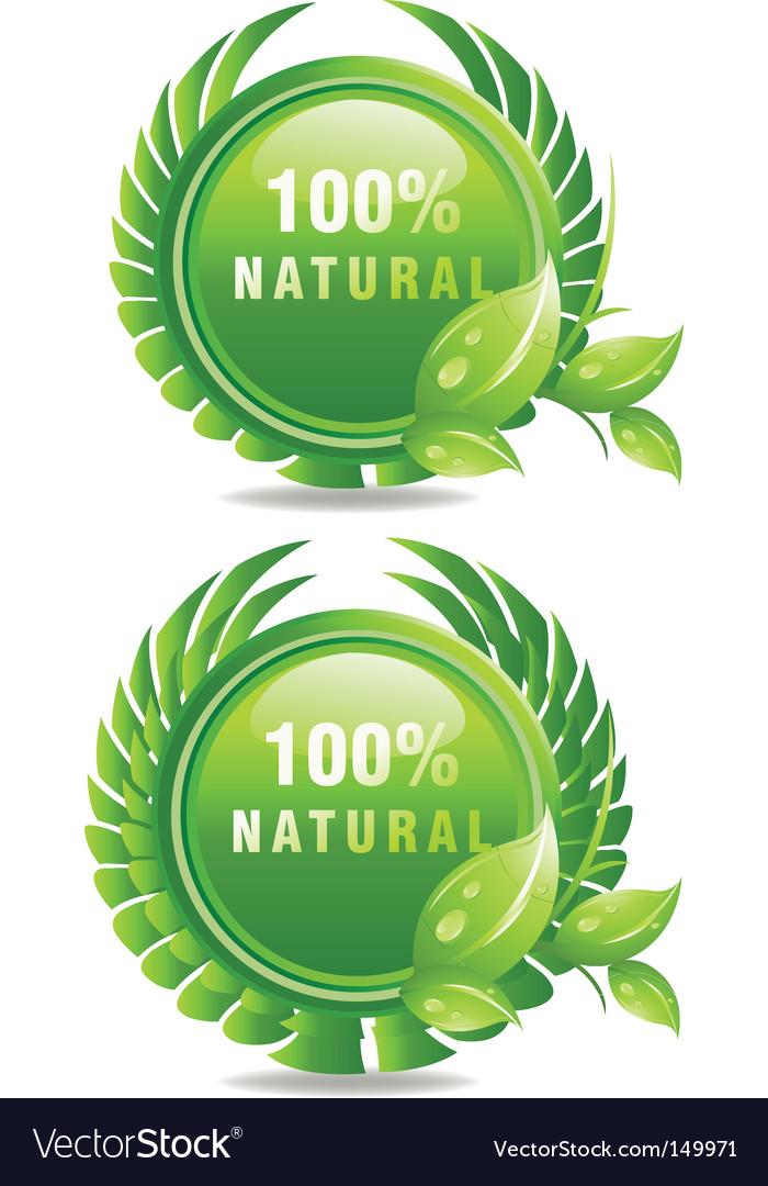 100 natural vector
