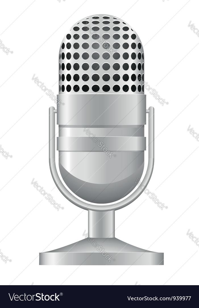 Microphone 04 vector