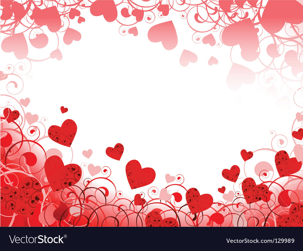 Heart Borders And Frames Heart frame vector