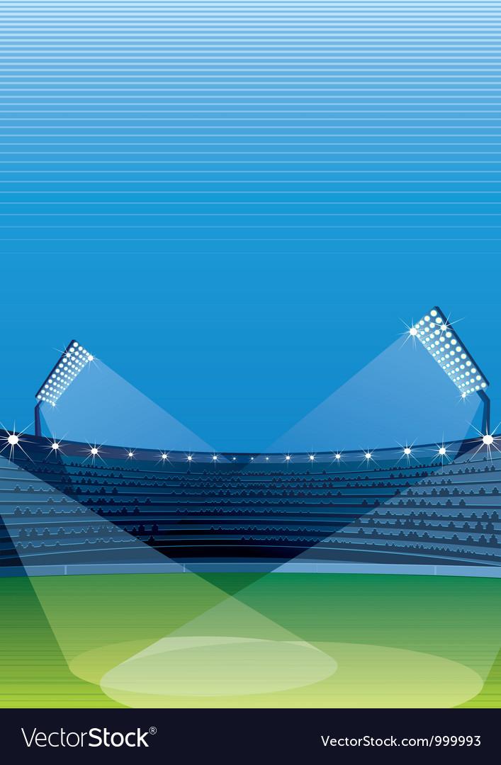 Sports stadiums vector