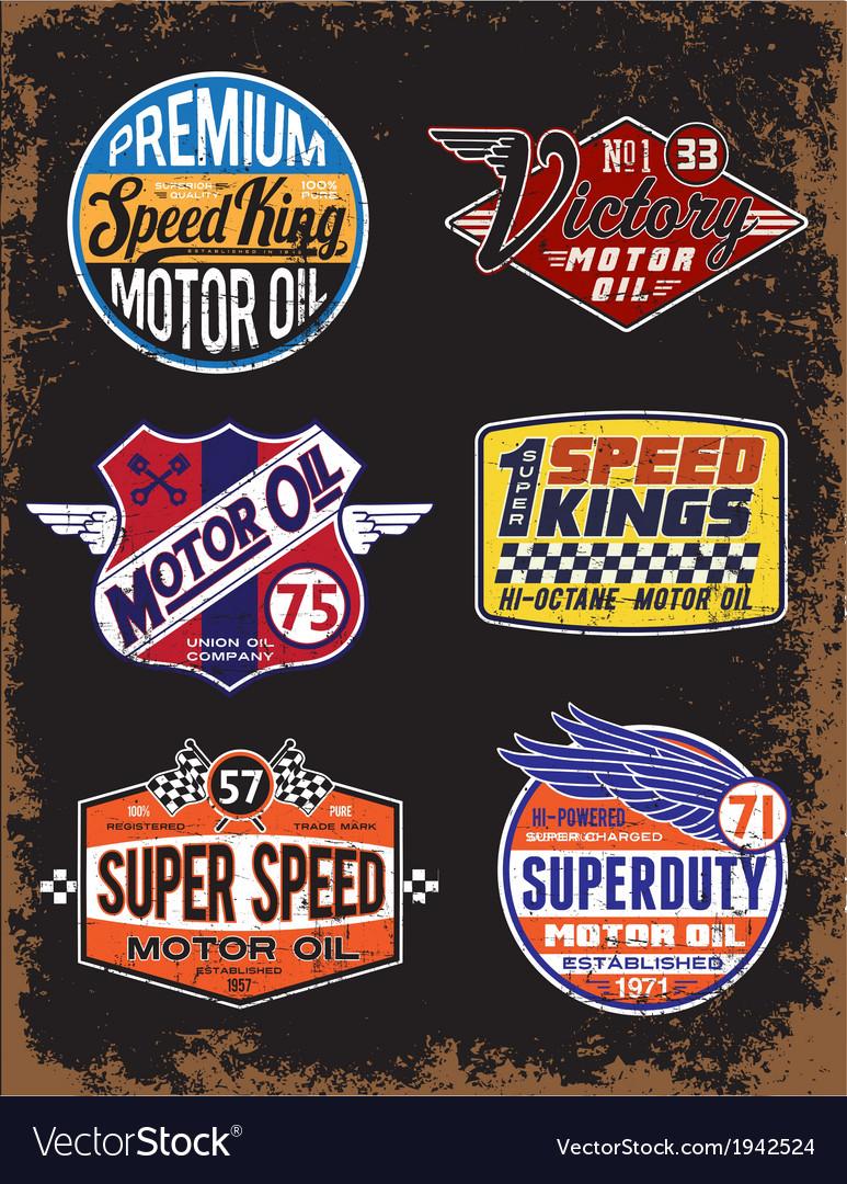 Vintage-motor-oil-signs-and-label-set-vector