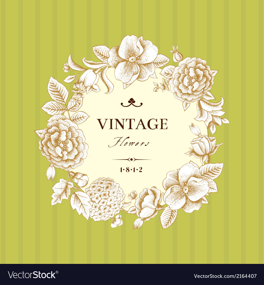 Floral-and-decorative-background-vector
