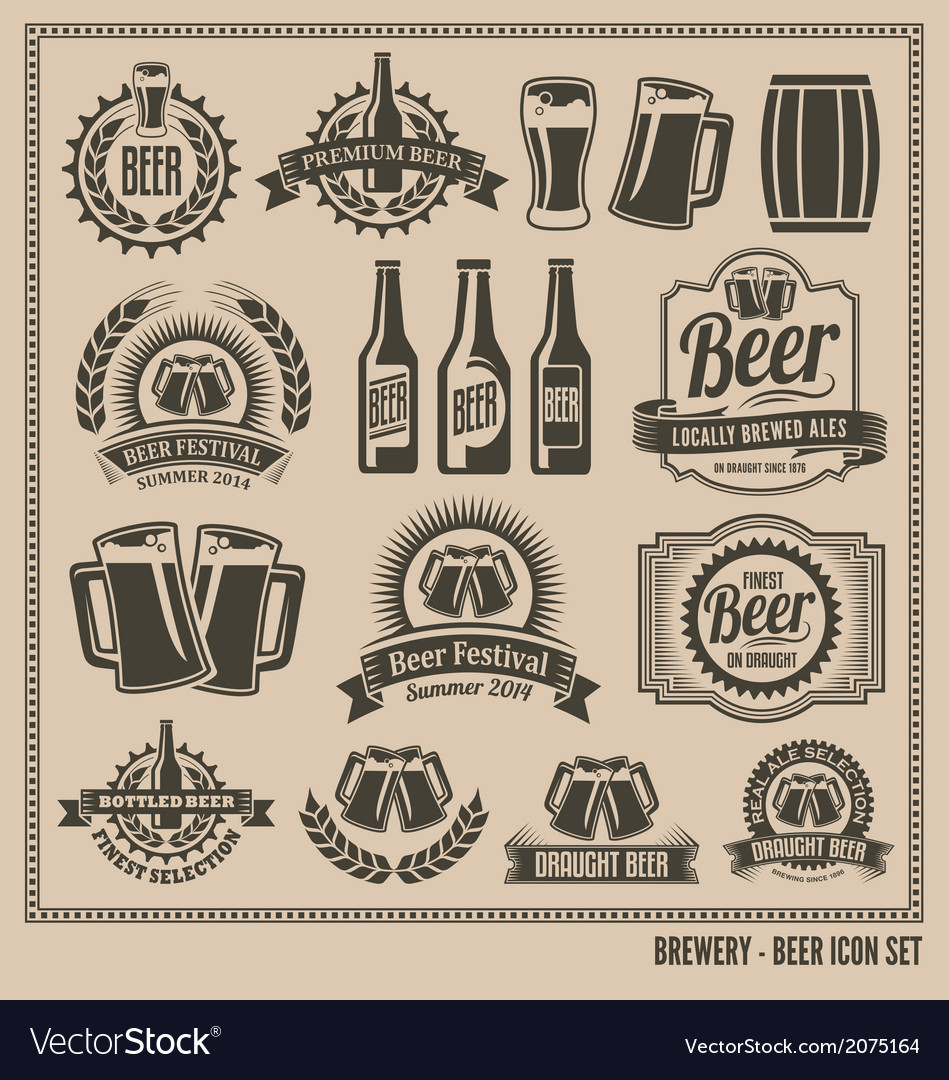Beer-icon-set-vector