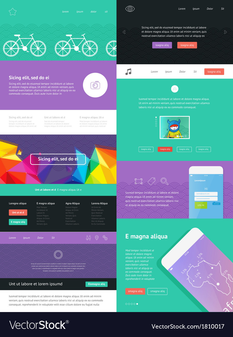 Ui is a set of components featuring vector