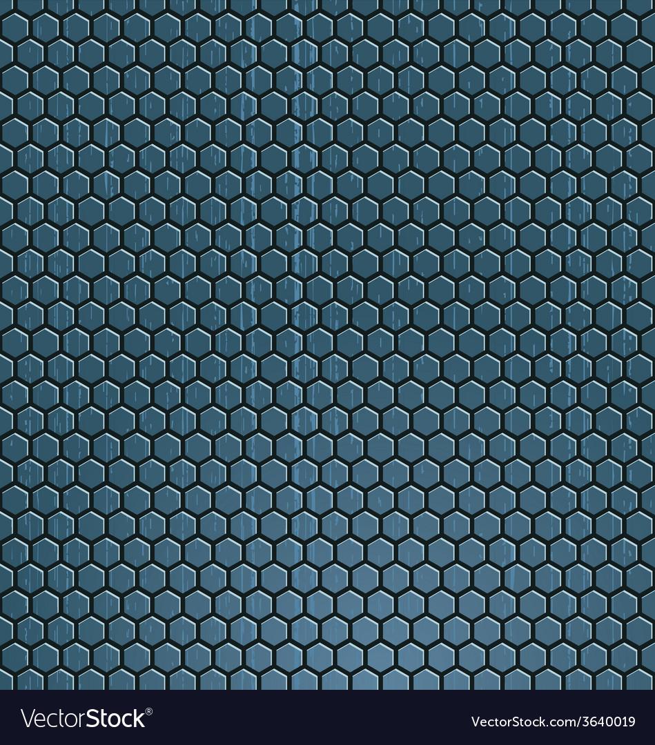 Metal mesh vector