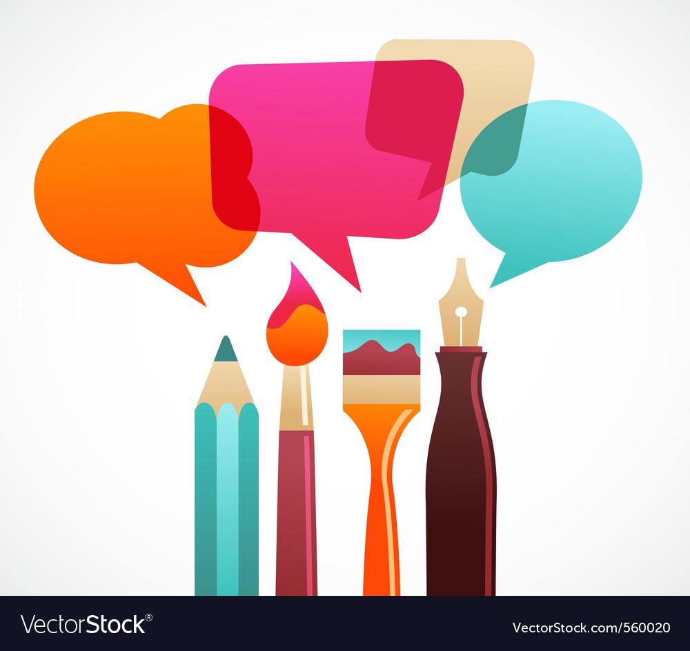 Art speech vector
