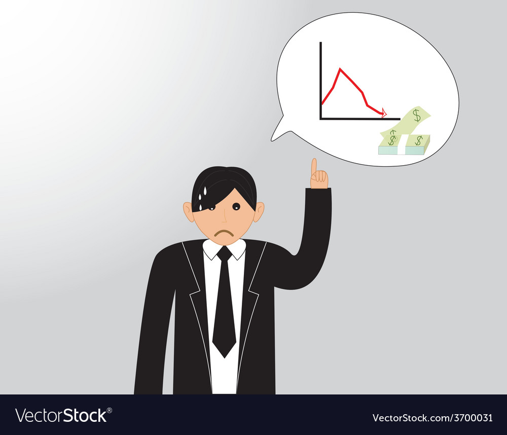 Business people thinking vector