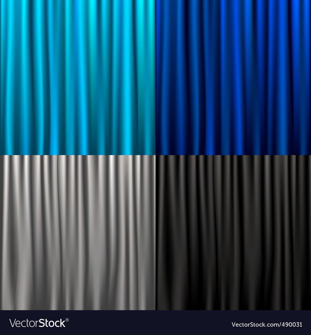 Set curtain vector