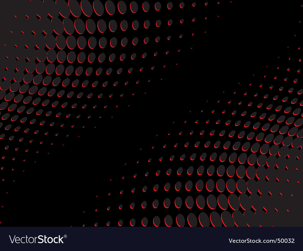 Half tone background vector