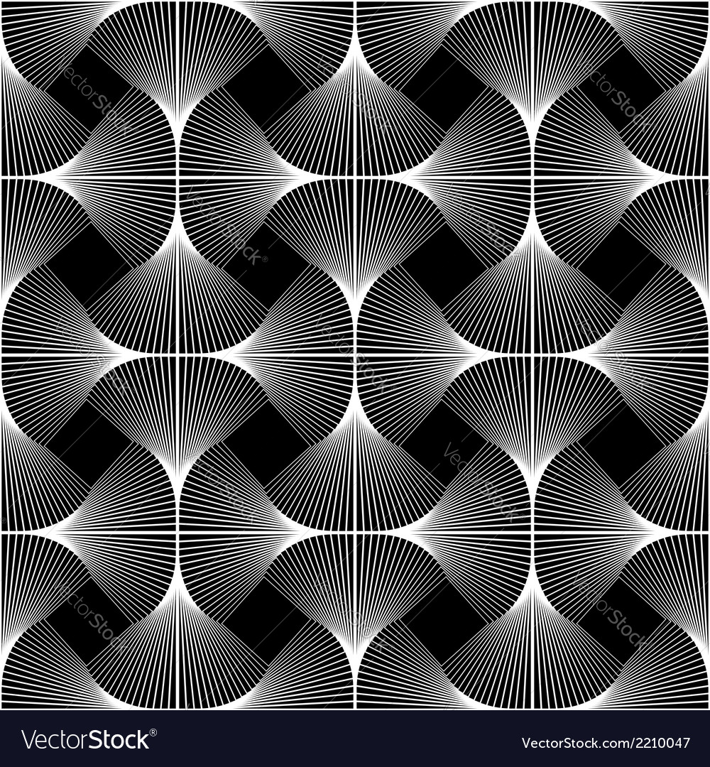 Design seamless swirl movement geometric pattern vector