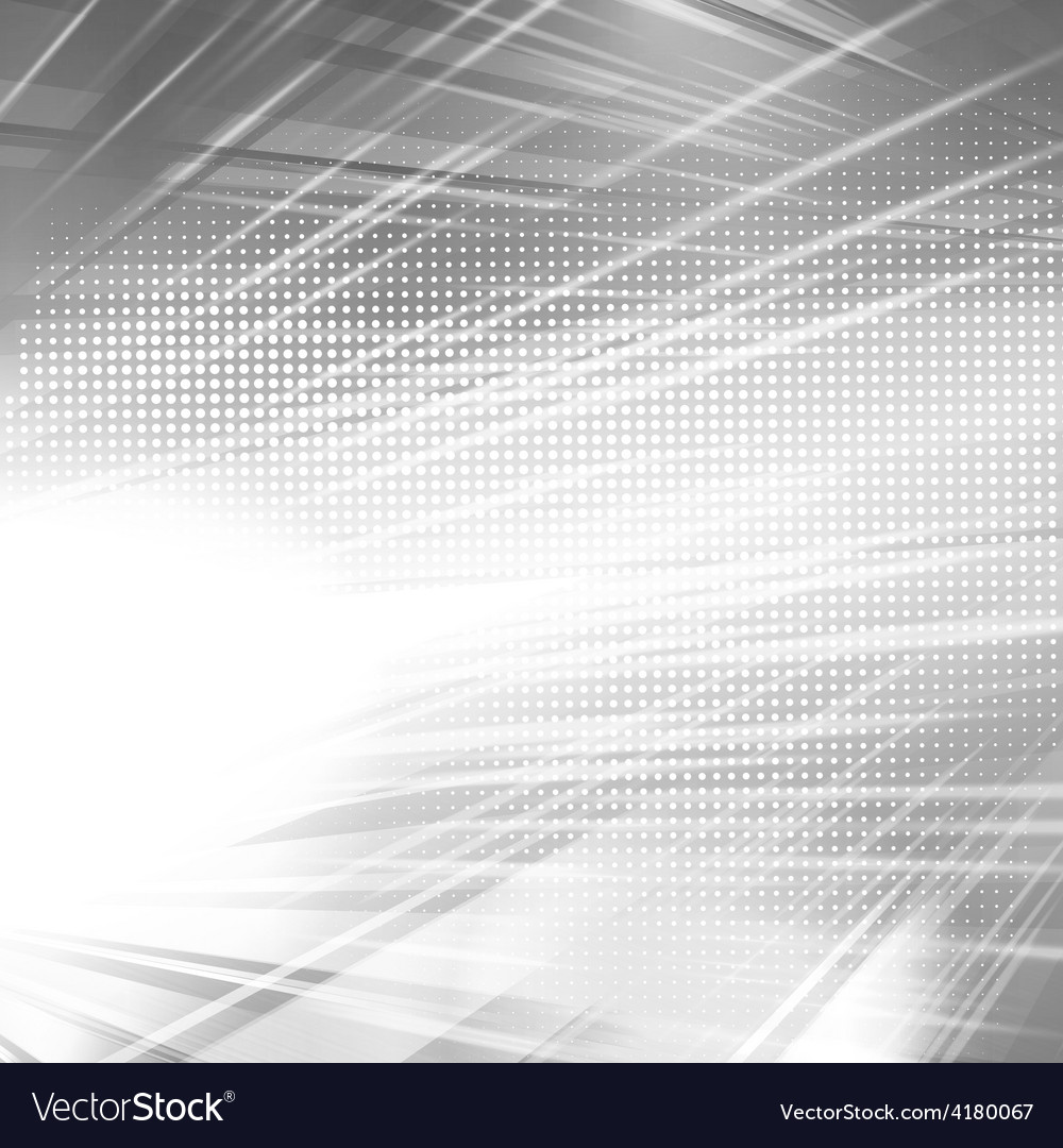 Abstract silver shiny template background vector