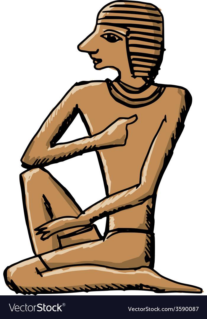 Artifact ancient egypt vector