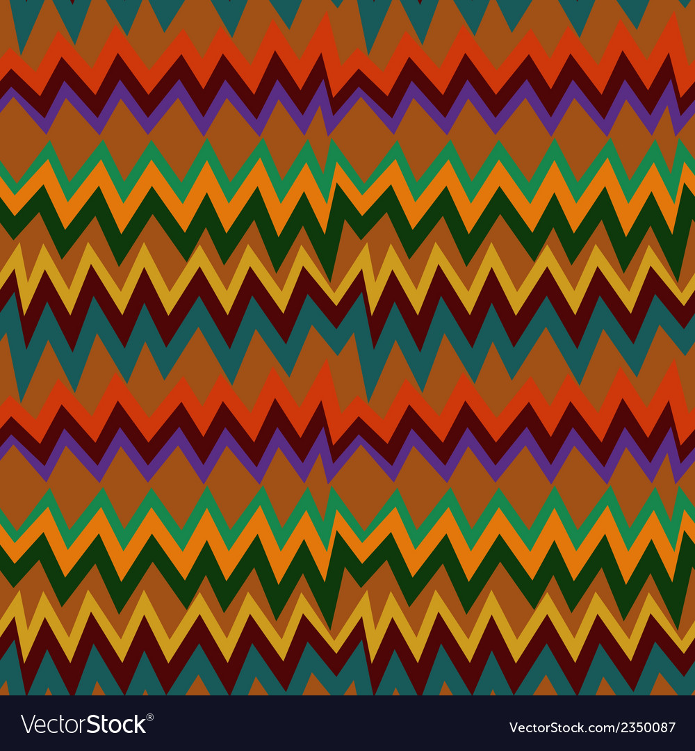 Seamless pattern with aztec elements vector